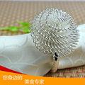 2013 sıcak satış ve toptan elmas peçete halkası, taç şeklinde peçete halkası