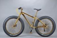 Luxurious 18K 26 inch fat bike bike race