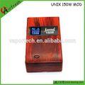 boîte en bois 2014 unik hottest cigarette électronique pistolet x