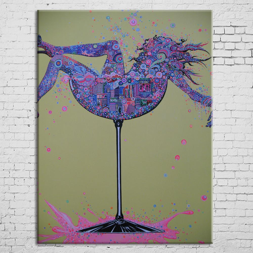 بسيطة الحديثة فرملس لوحات الفن التجريدي الشهير