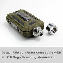 2014 Unique Mods 7w-30w Waterproof vv and vw E-lvt 2.0 Mod 18650 Battery