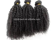 MR hair,wholesale virgin Brazilian human hair afro kinky hair extension