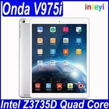 NEW Onda V975i Tablet PC Android 4.2 Intel 3735D Quad Core 64bit 2GB RAM 32GB ROM With 9.7 inch Retina 2048*1536 Screen 5.0MP