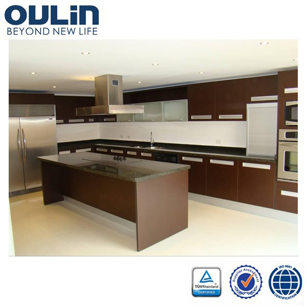 2014 modern modular kitchen cabinet design for sale view for Budget kitchen cabinets ltd