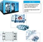LRQA ISO9001 CE GC Atlas Copco mini air compressor 12v