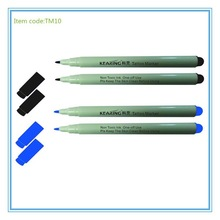 kearing colored ink and hot sell tattoo skin marker pen with 1.0mm tip,marking scribe pen, TM10