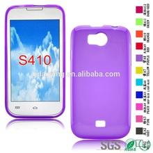 back case soft cover Anti-Shock Transparent TPU Case for Lanix S410