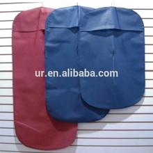 Suit Bags Garment Storage Cover Coat Dress Foldable Travel Dust Protector Black