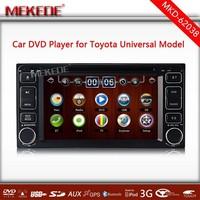 MTK3360 CPU 6.2'' Car GPS navigation for Toyota Universal Corolla Camry Hilux RAV4 Yaris 1080P palyer 3G/WIFI DVD radio