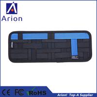 100pcs/lot wholesale cocoon grid it car sun visor organizer for phone pen charger etc