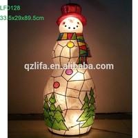 snowman christmas decoration led light