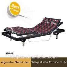 Modern bedroom furniture parts for electric adjustable massage bed(EM-06)