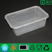 Bio-degradable,disposable Feature and Plastic Material plastic food container 1500ml