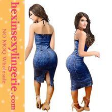 Custom Made Fat Women Print Club Wear Dress Patterns