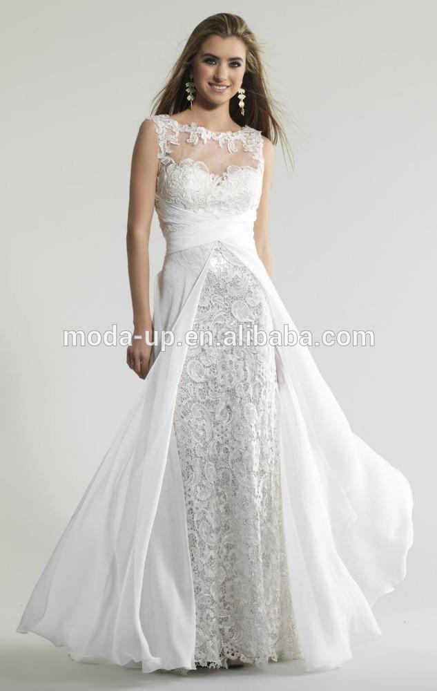 Casual Beach Wedding Dresses Not White