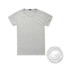 240 grams hot sale 100% bamboo fiber most popular pure cotton women tshirt