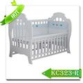 Portátil de madeira do bebê berço/bebê moderna cama/berço