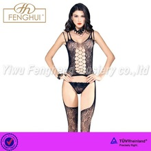 Hot sale Ms. tight Sexy Sheer nylon bodystocking