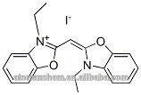 3- etílico- 2-( 3- etílico- 3h- benzoxazol- 2- ylidene) metil benzoxazolium 15185-40-7 yoduro de alta pureza