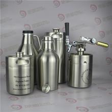 64OZ mini keg bottle for bar counter top vodka dispenser