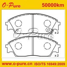 180755 china brake pads semi-metal wholesaling japan car