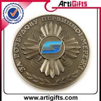 China factory supply cheap engraved antique bronze replica coin