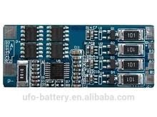 Lithium ion/Lifepo4/Lipo/Li-ion battery PCM/BMS/PCB 11.1v 3s 4s 3a