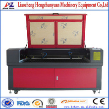 Lowest price dual laser heads acrylic/wood/leather laser cutting machine 1290 eastern