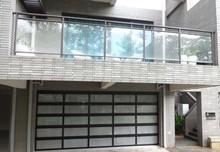 Auto Frosted Folding Glass Garage Door/aluminium profile for sectional door