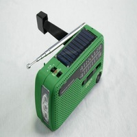 High quality 3LED sirens built-in wall radios