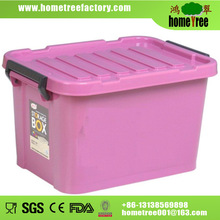 Colorful plastic container 50 liters with grip