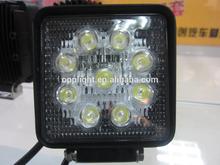 New 27w car led tuning light/led work light,Top quality 10-30V IP67 new 27w car led tuning light/led work light