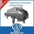 gran secador de vacío tamaño de microondas continua para hortalizas