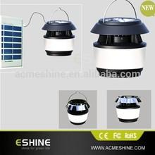 Waterproof Portable Mosquito Killer Solar Lighting System For Garden