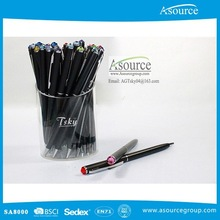 Hot Selling Souvenir Use Crystal Novelty Pen