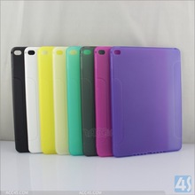 for ipad air 2 case matte TPU, soft cover cases for ipad 6\air 2