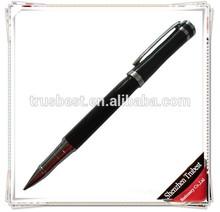 TM-15 silver clip customized logo gift metal pen, promotional metal gel pen