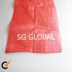 pp red onion mesh net bag fruits and vegetables