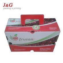 cherry box fruit packing box corrugated box