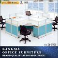 Escritorio para estación de trabajo de oficina hecho con melamina nuevo, popular y moderno KM-P806