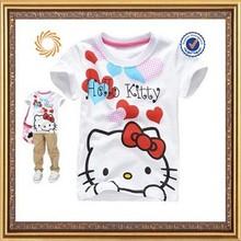 New summer children printed t-shirt