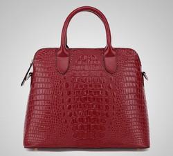 2015 Fashion Handbag Lady Handbag Leather Crocodile Handbag Tote Bag Wholesale Handbag China