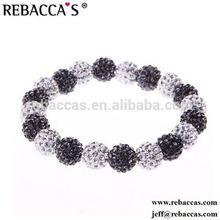 KY- NSB345 A grade round tiger eye shamballa beads bracelet