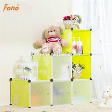 المنتج الجديد الأنيق diy مكعب رفوف fh-al0024-6 أفكار هدايا عيد الميلاد للأطفال