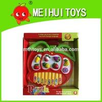 cute plastic kids toy mini keyboard music