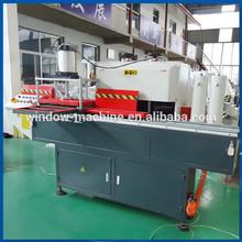 Mullion and transom end cutting aluminum window making machine
