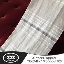 2015 best-selling linen stripe curtain fabric
