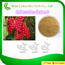 High Quality botanical powder Schisandra P.E/Schisandra Berries Extract powder P.E.