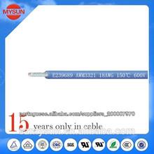 ul 3321 low smoke halogen free xlpe hook-up wire