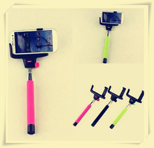 2015 new product Z07-5 Wireless selfie stick,Handheld Monopod with bluetooth shutter button